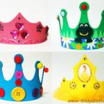 fazer coroa e tiara de EVA