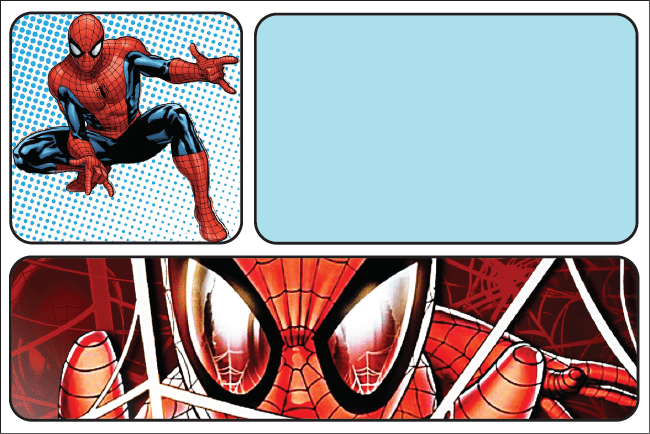convite homem-aranha para imprimir