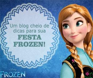 Um blog cheio de dicas para sua festa Frozen