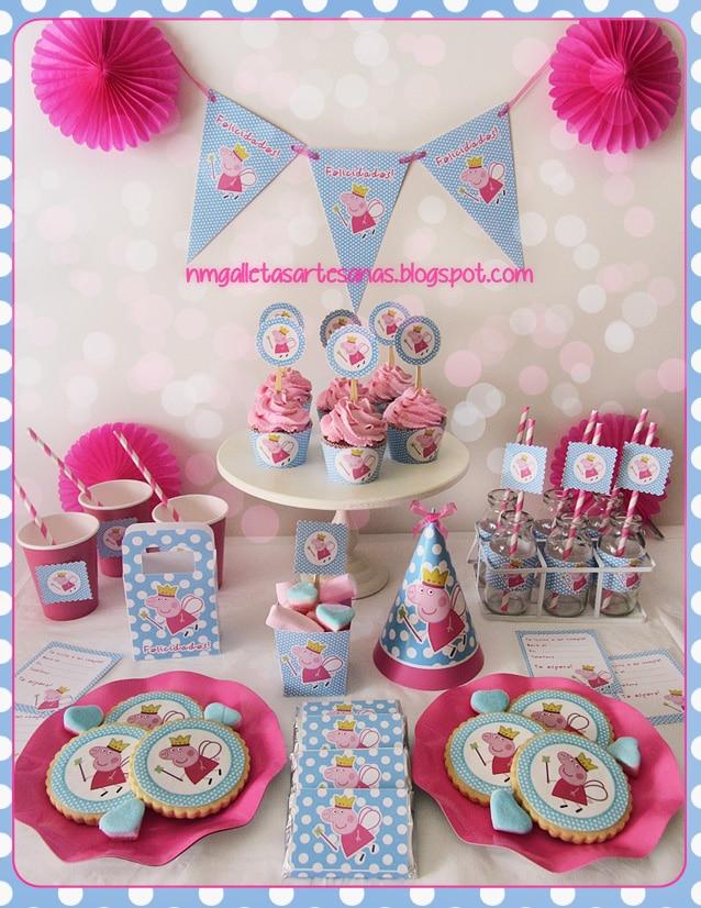 kit festa Peppa Pig
