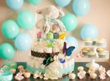 Como fazer um bolo de fralda para chá de bebê