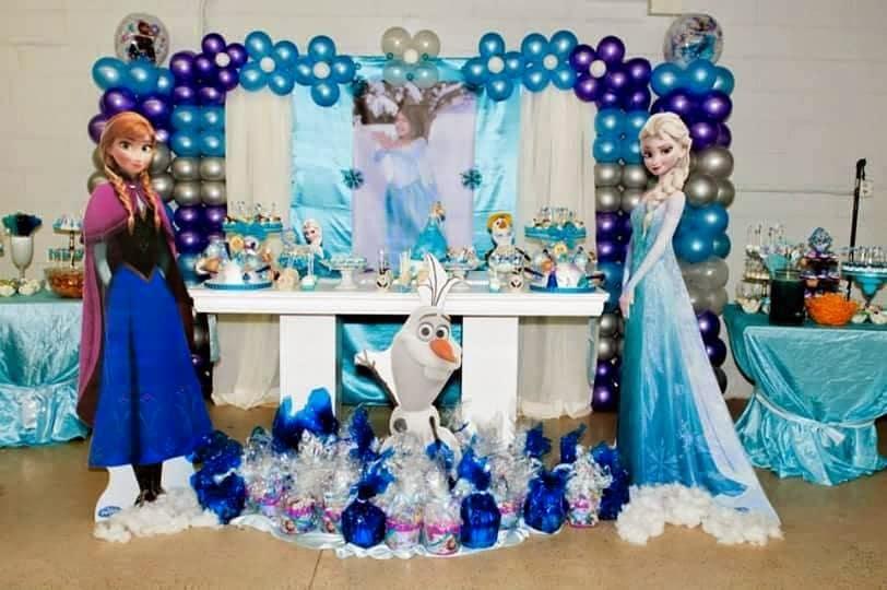 Festa Frozen DIY