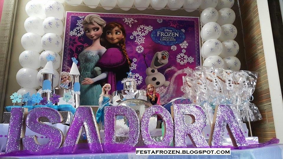 festa Frozen econômica