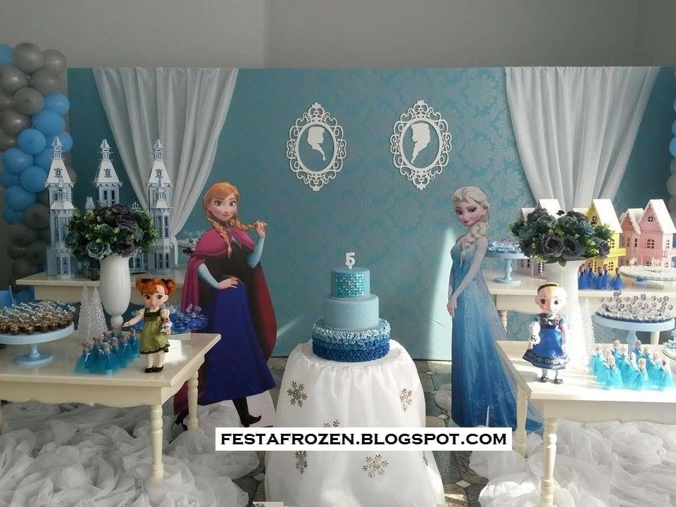 Festa Frozen Da Leitora Jussara Fazer Festa Fácil