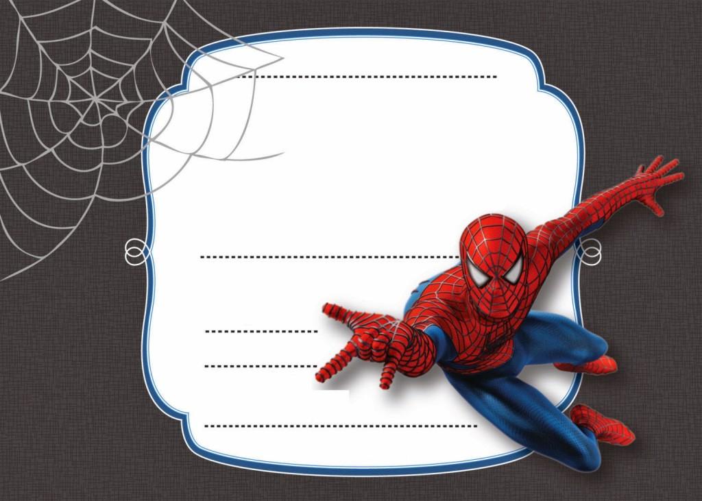 Convite Homem-Aranha (1)