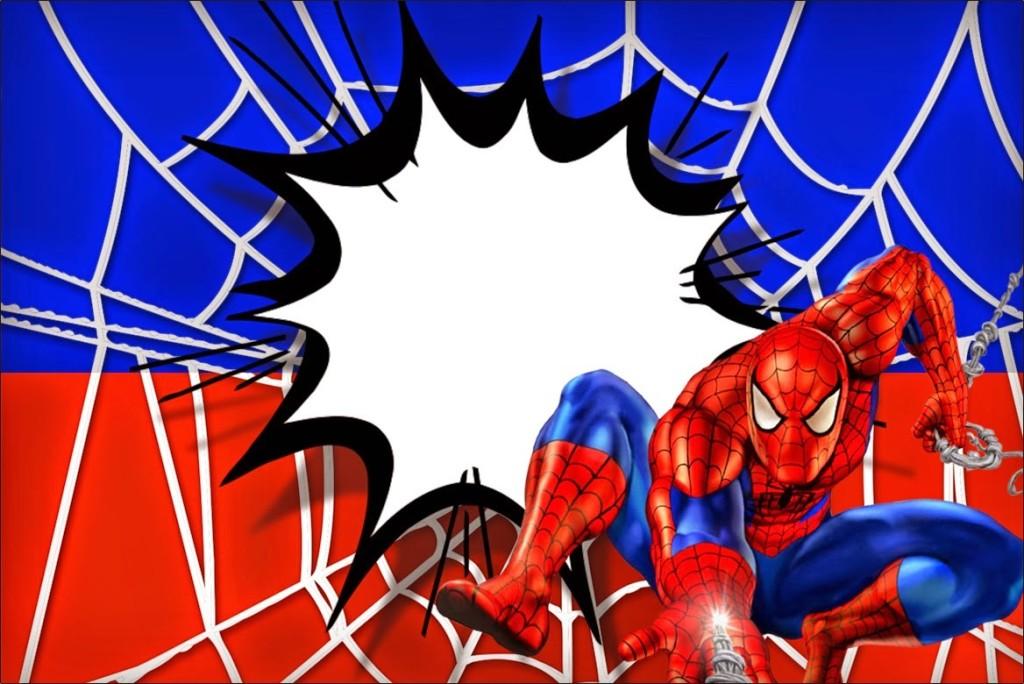 Convite Homem-Aranha (13)