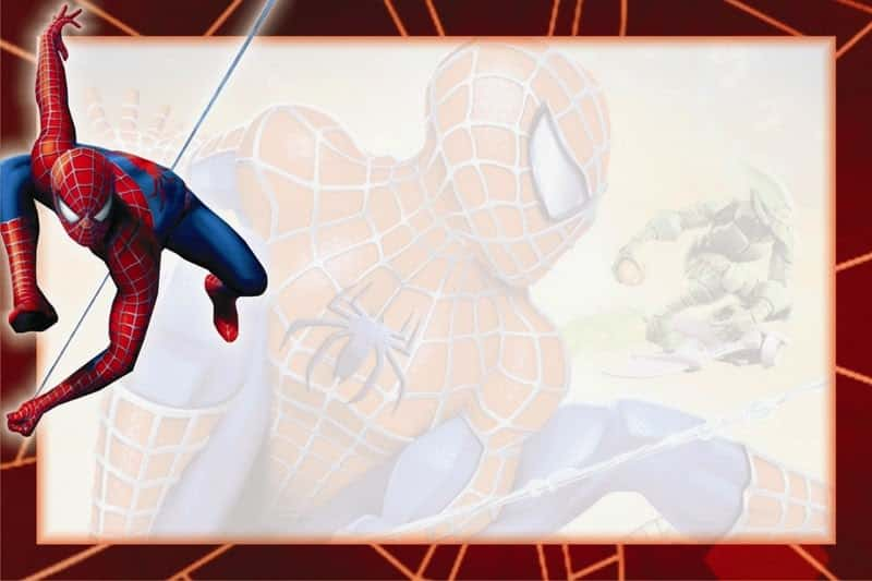 Convite Homem-Aranha (17)