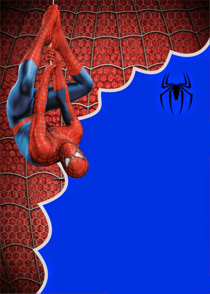 Convite Homem-Aranha (2)