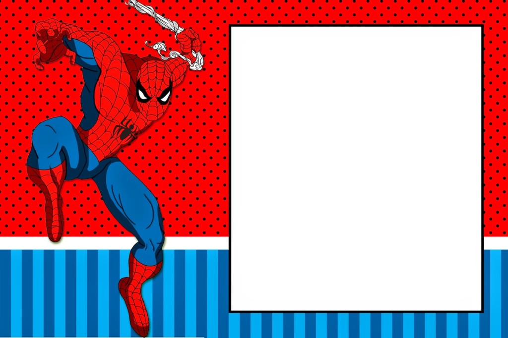 Convite Homem-Aranha (3)