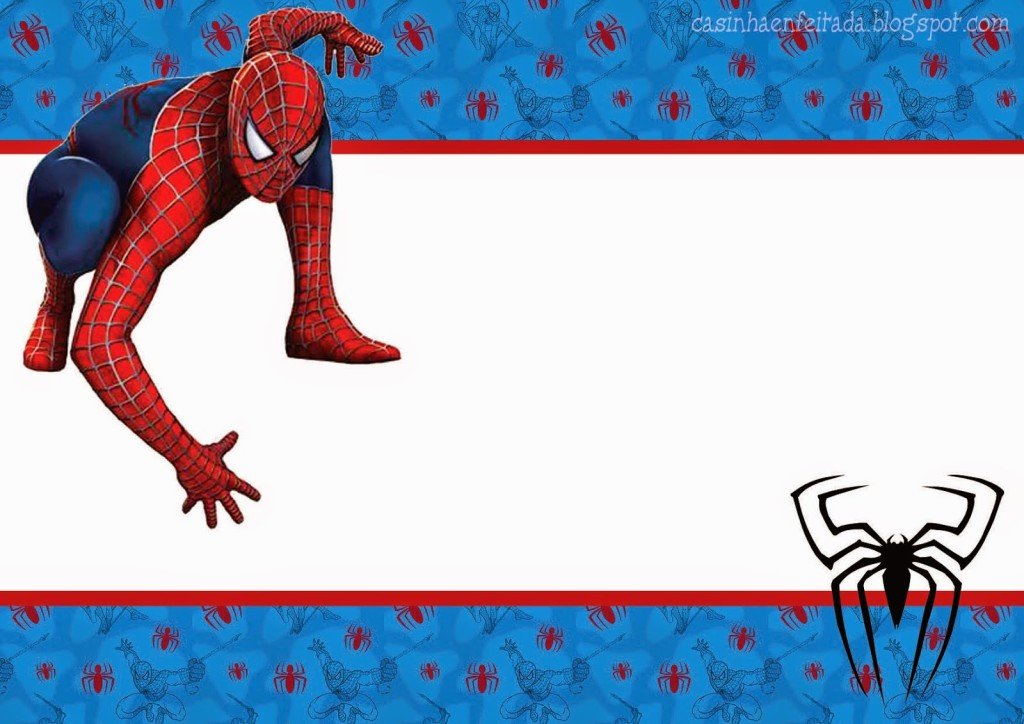 Convite Homem-Aranha (6)