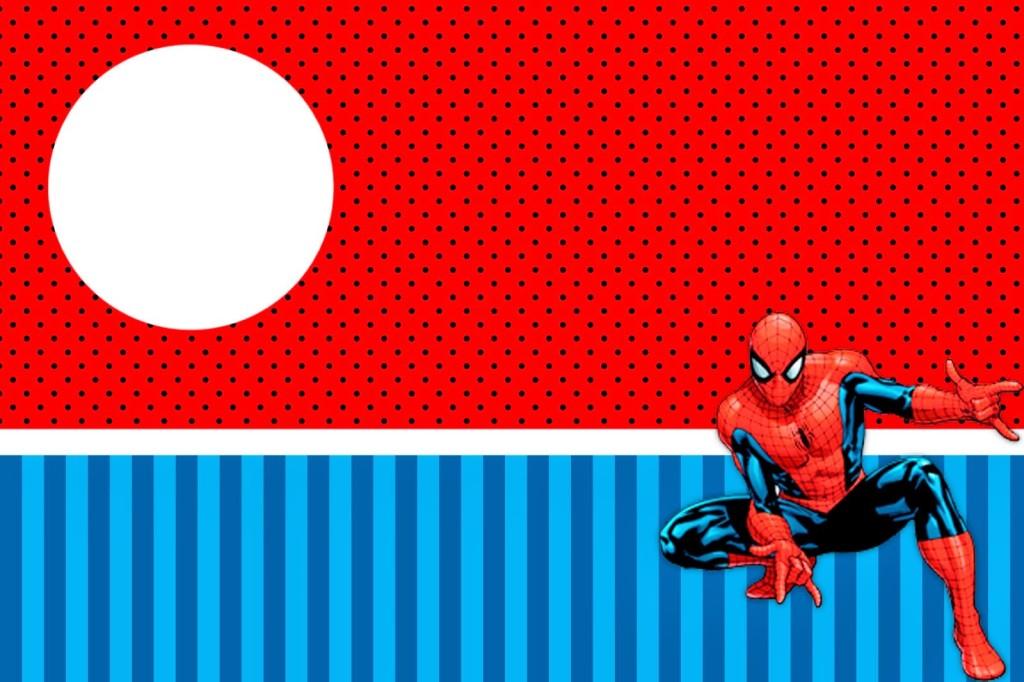 Convite Homem-Aranha (7)