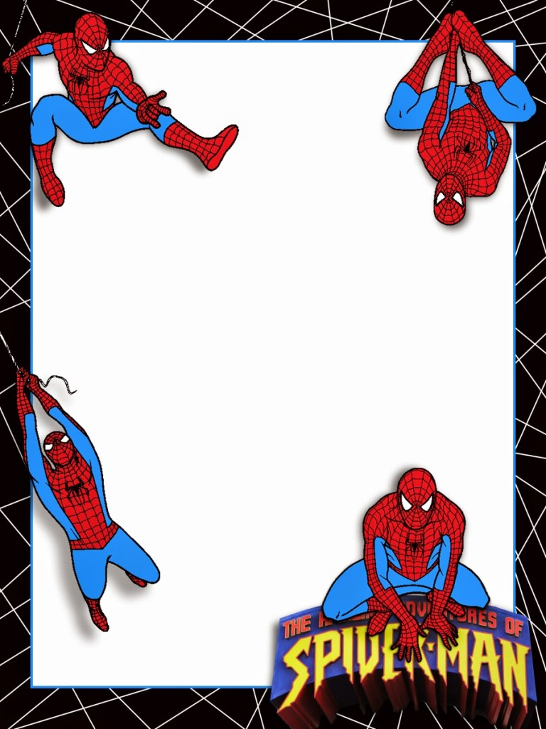 Convite Homem-Aranha (8)
