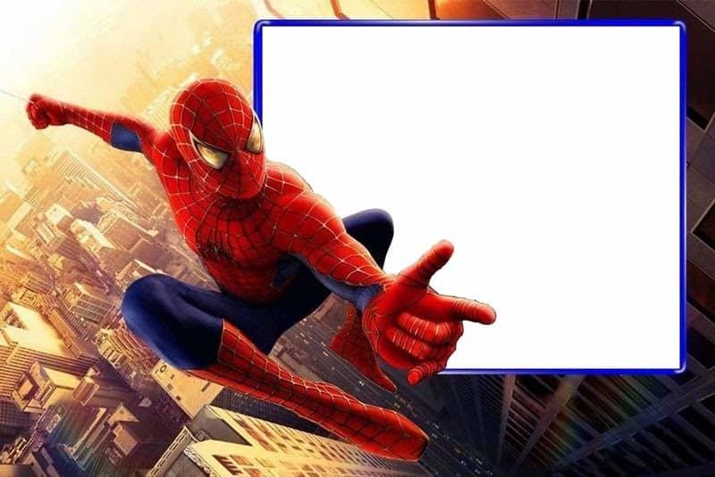 Convite Homem-Aranha (9)