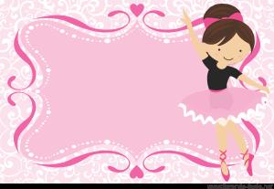 e86099e531 Convite Bailarina