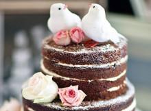 naked cake cha de cozinha